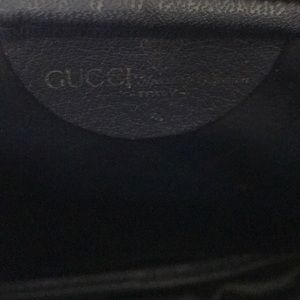 Gucci Bags - Vintage Gucci Classic Navy Cross Body Purse